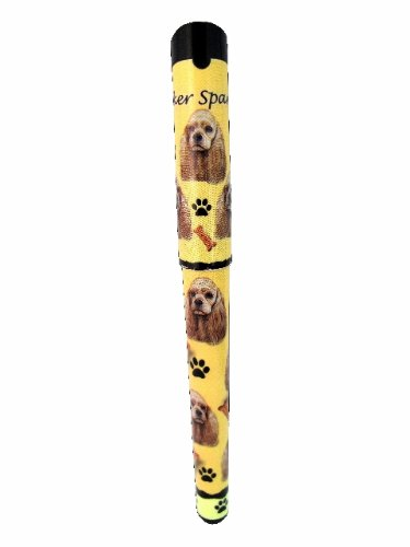 Cocker Spaniel Ink Pen Easy Glide Gel Pen, Refillable