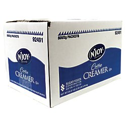 N'Joy(R) Single-Serve Non-Dairy Coffee Creamer Packets, Box Of 500