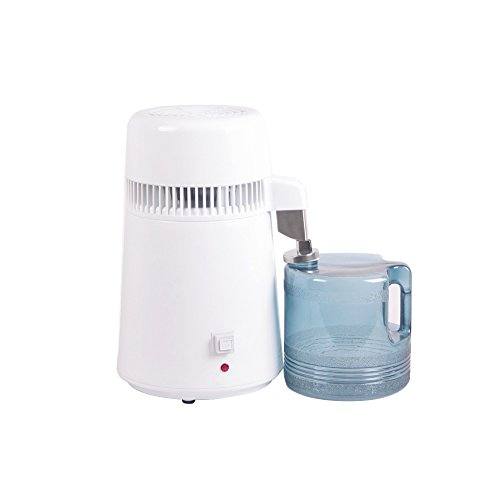 Purewill 4L Stainless Steel Internal Pure Water Distiller Water Filter Distilled Water Household Office Tool by Purewill (Image #2)