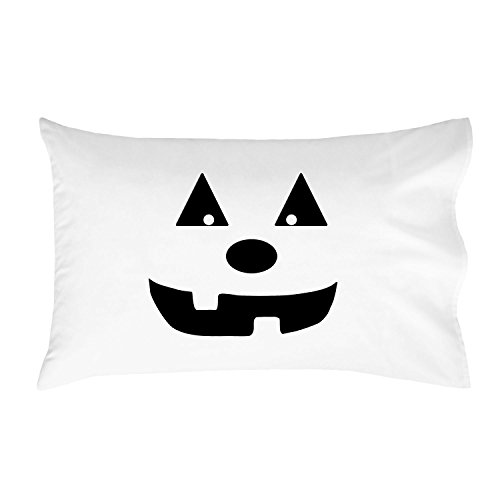 Oh, Susannah Halloween Pumpkin Standard Pillowcase (1 20x30 inch, Black) (Spirit Halloween Mad Hatter Costume)