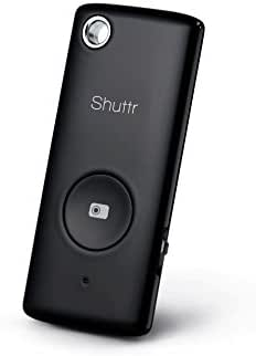 Muku Shuttr - Selfie Remote / Camera Shutter for iPhone, iPad, Samsung, LG, Android and Nexus - Frustration Free Packaging - Black