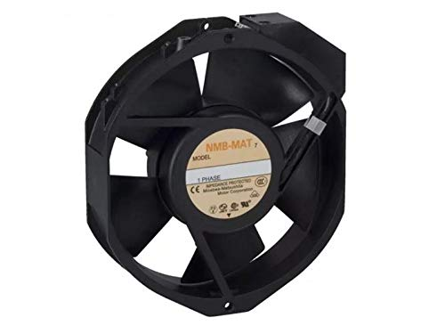 190MA; SUPPLY VOLTAGE:230V; CURRENT TYPE:AC; FAN FRAME SIZE:172MM; EXTERNAL DEPTH:38MM; NOISE RATING:56DBA; FLOW RATE IMPERIAL:212CU.FT//MIN; FLOW RATE METRIC:6M/ª//MIN NMB 5915PC-23T-B30-A00 230VAC