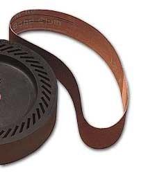 Eastwood Metalworking Belt Expander Wheel Band 120 Grit Grinding and Polishing