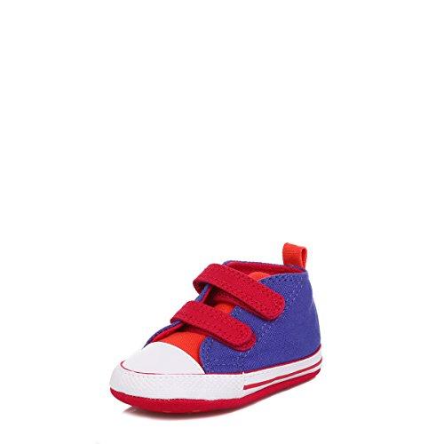 Converse Chuck Taylor Crib Scratch Unisex Baby Babyschuhe - Lauflernschuhe Periwinkle