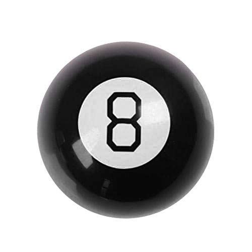 lightclub Mini Size Retro Magic Mystic Decision Making 8 Ball Fortune Telling Interesting Toy Gift 15 Possible Answers to Yes Or No Type Questions Shaped Like Pocket Billiards 8 Ball 1