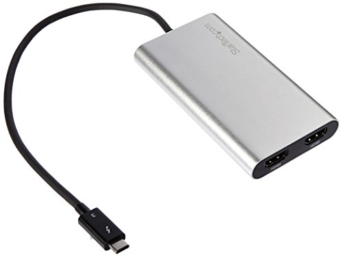 Thunderbolt 3 to Dual HDMI Adapter - Thunderbolt to 2x HDMI