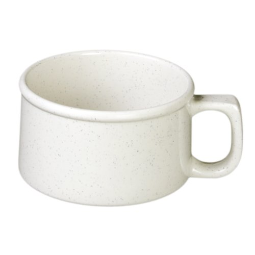 Excellanté Tribune Melamine Collection 4-Inch Soup Mug, 8-Ounce, ()
