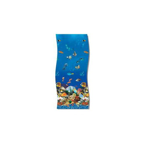 (Swimline Caribbean Tile Round Overlap Pool Liner Size: 21' W x 48