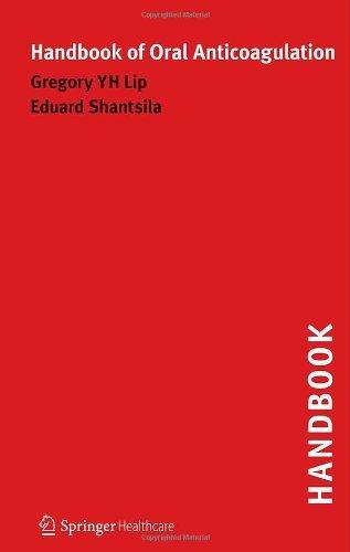 Download Handbook of Oral Anticoagulation Pdf