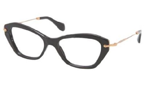 Miu Miu MU04LV Eyeglasses-1AB/1O1 Black-52mm