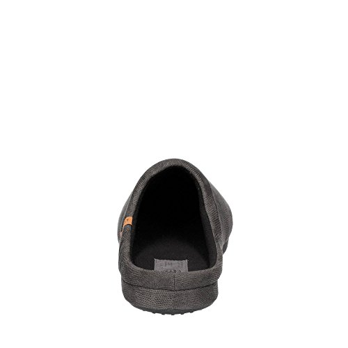 ESPRIT 097EK2W004-001 Herren Hausschuh Aus Textil Leichte Flexible Laufsohle Schwarz