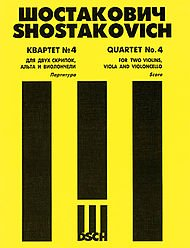 String Quartet No. 4, Op. 83 Score