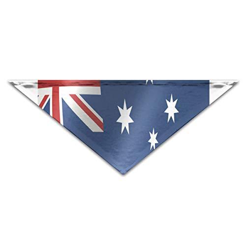 (HJudge Dog Bandana Australia Flag Dog Scarf Vintage Cat Bandana)
