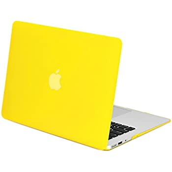 online retailer 93ed7 5375f NEW ARRIVALS! TopCase® Rubberized YELLOW Hard Case Cover for Macbook Air  13