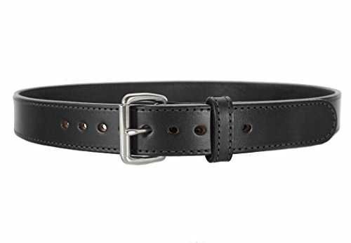 Daltech Force Bull Hide Leather Belt - Stitched 1.5
