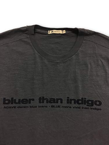 camiseta M de en 'bluer algod Than Agave talla gris Indigo' Lux pI16qa