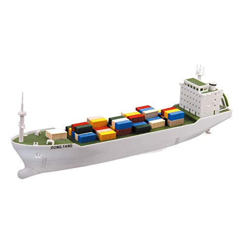 DIY Racing Boats Container Vessel Battery Powered Ship Model Educational Toys Children Gifts from TWOBOYS