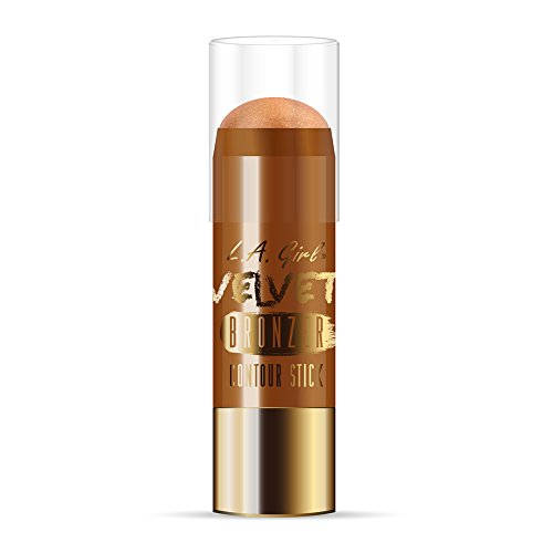 L.A. Girl Velvet Contour Sticks, Bronzer Goddess, 0.2 Ounce (Pack of 3)