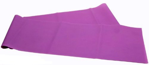 Wowlife 1.8M Yoga Elastic Strap Pilates Stretch Out Strap Dancer Rubber Stretch Resistance Exercise Fitness Band (Purple)