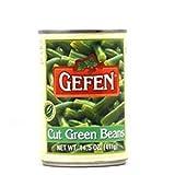 Gefen Cut Green Beans 14.5 Oz. Pack Of 3.