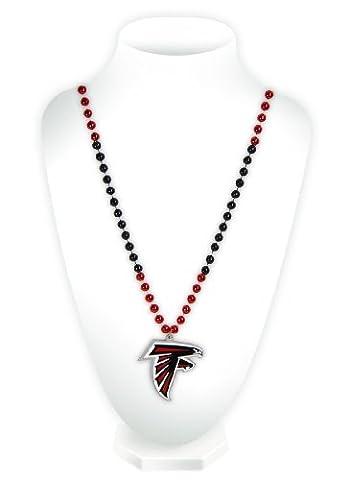 NFL Atlanta Falcons Beads with Logo Medallion