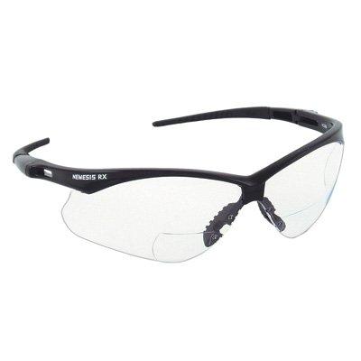 Jackson Safety Nemesis RX Safety Glasses - Black/Clear, -