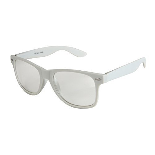 de de Nerd Transparente Vintage De Bisagra Unisex muelle a De calidad varios Modelos colores elegir 101 Alta Claro goma Gafas con Gris Gafas Sol estera Retro 4vqyZ40AF