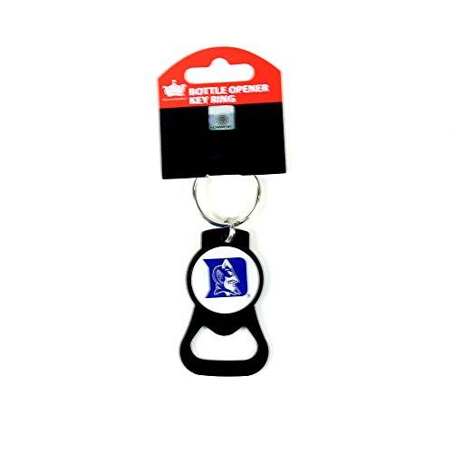 aminco NCAA Duke Blue Devils Blackout Series Bottle Opener - Key Ring Devils Opener Bottle