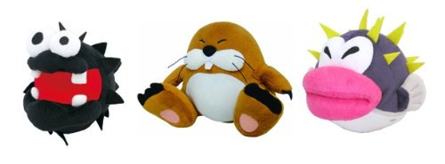 Sanei Set of 3 Super Mario Plush Doll - 5