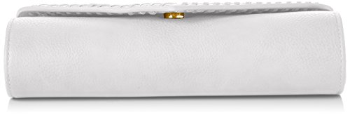 Ashton Swans Blanc Envelope Swanky Pochettes White Clutch Z5xadzwp
