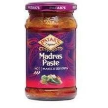 Pataks Madras Curry Paste, 10 Ounce -- 6 per case. -  SPK-30222