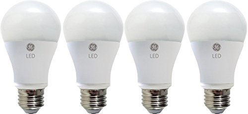 GE Lighting 39025 LED 7-watt (40-watt replacement) , 470-Lumen A19 Light Bulb with Medium Base, Soft White, 4-Pack (A19 Lights Medium Base)