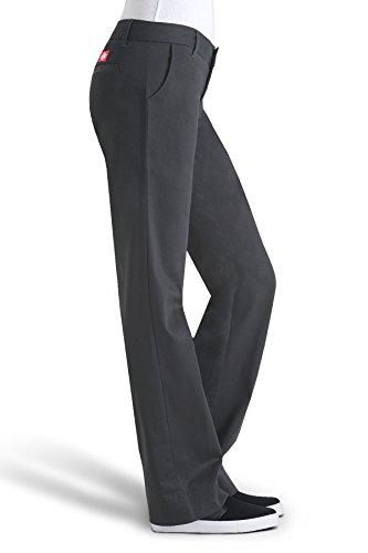 Dickies Girls Juniors' Bull 4-Pocket Bootcut Pant-School Uniform,Black,0 by Dickies (Image #2)