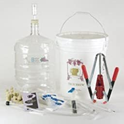 Gold Wine Equipment Kit with 6 Gallon Glass Carboy
