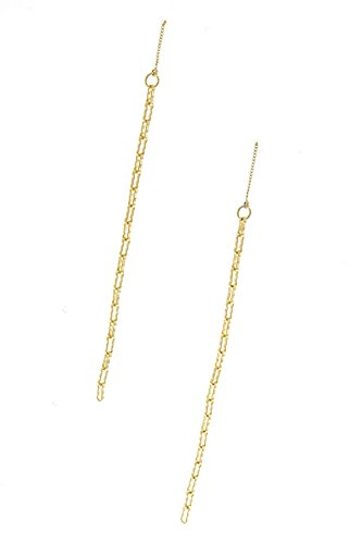 TRENDY FASHION JEWELRY LONG CHAIN LINKED DROP EARRINGS BY FASHION DESTINATION | - Glasses Harry Potter Online