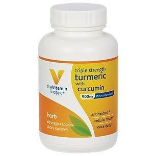 the Vitamin Shoppe Triple Strength Turmeric with Curcumin by Vitamin Shoppe