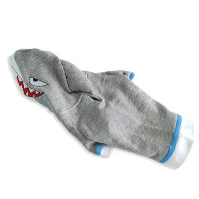 Shark Dog Pet Costume/Hoodie (4 - L: 13