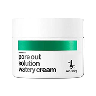 [BELLAMONSTER] Pore Out Watery Cream 1.69 fl.oz. (50ml) / Watermelon Seed Oil & Xylitol Pore Tightening & Cooling Facial Gel Cream, Sebum Control Moisturizing, Soften Tired Pores
