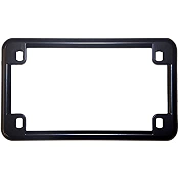 Amazon.com: Slim Rim Chrome Motorcycle License Plate Frame: Automotive