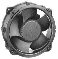 9-1/8'' Round Axial Fan, 230VAC