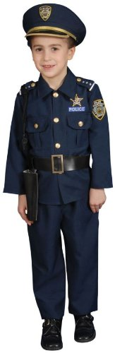 Police Child Costume - Small (4-6)