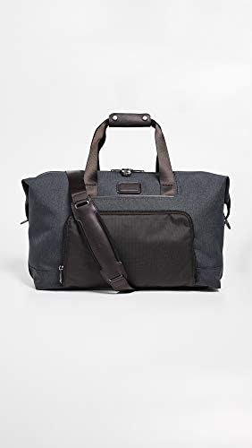 TUMI – Alpha 3 Double Expansion Travel Satchel – Duffle Bag for Men and Women – Anthracite