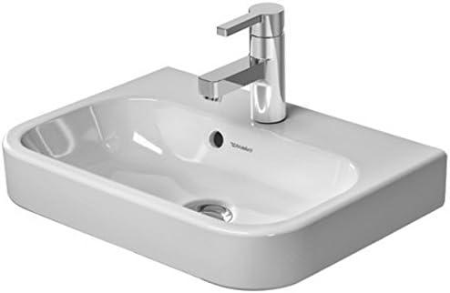 Duravit 0710500000 white, Furn.handrinse basin 500mm HappyD.2, TP, 1 TH, Medium