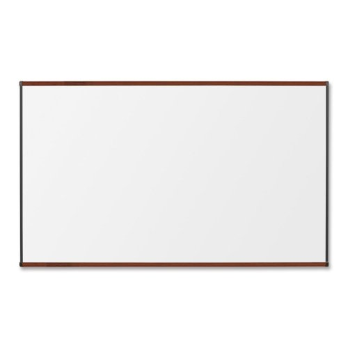 Lorell Porcelain Marker Boards-Porcelain Board, 4'x8', Mahogany