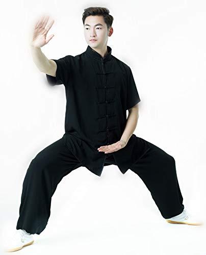 Amazon.com: w.h.s Unisex de uniforme seda de algodón Tai Chi ...