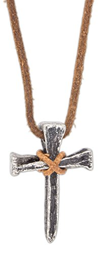 Kerusso Faith Gear Nail Cross Christian Necklace on 22