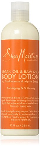 SheaMoisture Argan Oil & Raw Shea Butter Body Lotion w/ Frankincense and Myrrh Extract - 13 (Shea Butter Moisture)