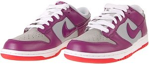 Nike Mujeres Dunk Low Cl Plata / Logan Berry-white-chl Red Us 8.5 M