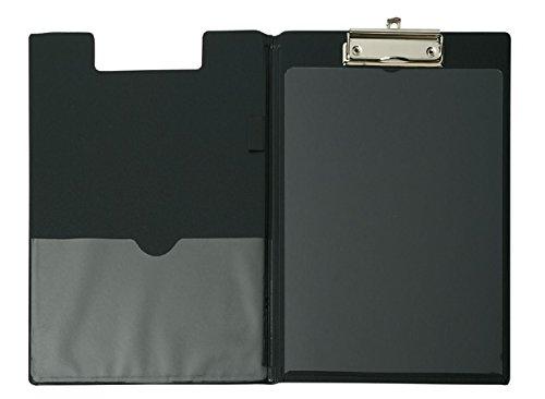 DIN A4 schwarz Maul 23396-90 Klemmbrett-Mappe mit Folienberzug