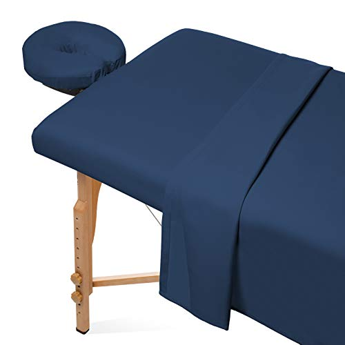 Saloniture 3-Piece Microfiber Massage